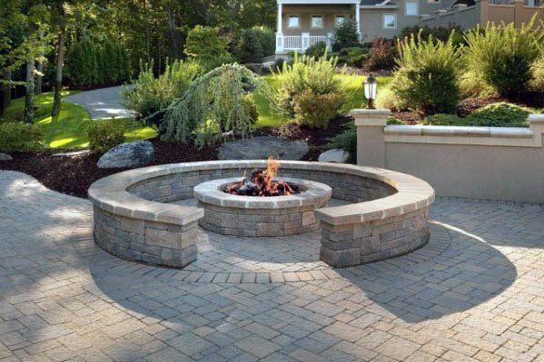 Top 50 Best Patio Firepit Ideas Glowing Outdoor Space Designs Fire Pit Backyard Gazebo With Fire Pit Backyard Fire