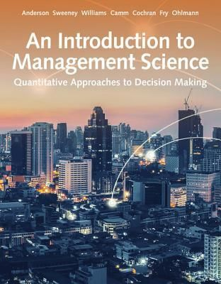Download Pdf Books An Introduction To Management Science Quantitative Approach