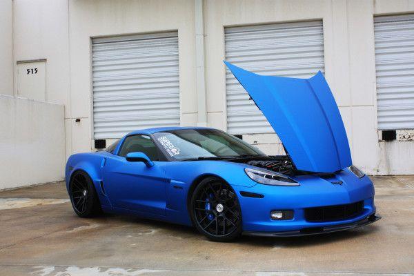 Superior Auto Design Z06 Corvette Wrapped In 3Ms Matte