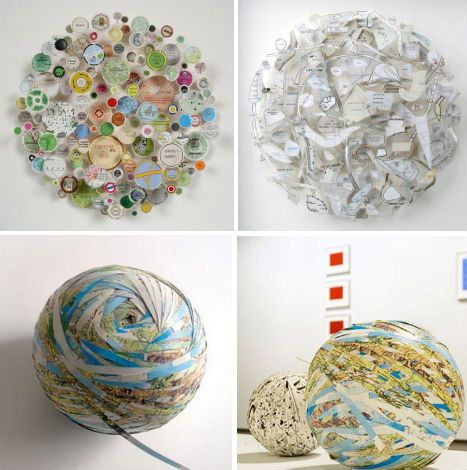 Creative Cartography: 15 Artists Transforming Maps- Chris Kenny