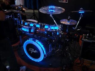 Glowing drums