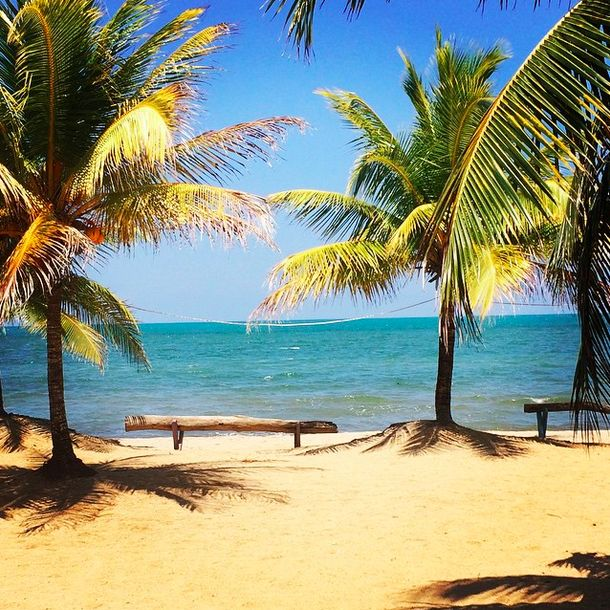 Caribbean beach perfection in Hopkins, Belize