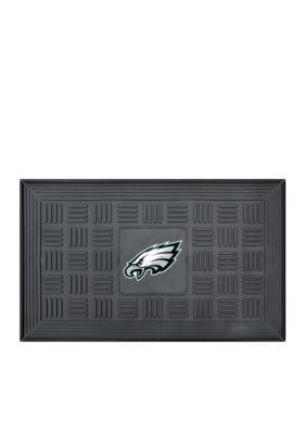 Fanmats  Nfl Philadelphia Eagles Medallion Door Mat - Black