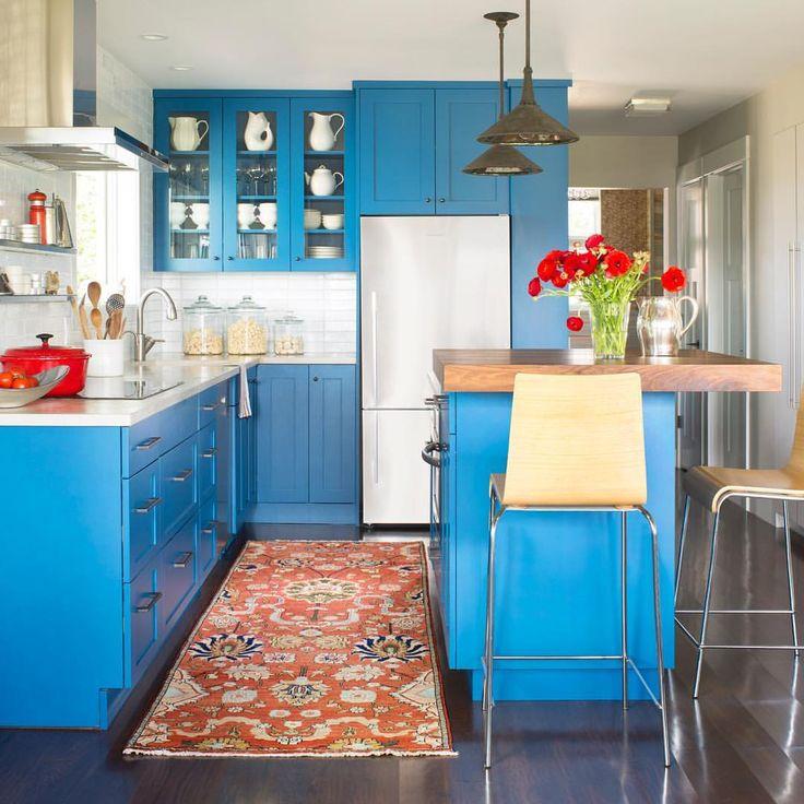 Best 25 Whitewash Kitchen Cabinets Ideas On Pinterest: 25+ Best Ideas About Blue Kitchen Cabinets On Pinterest