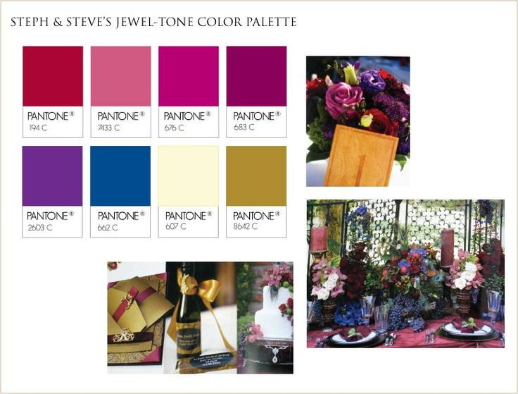 41 best jewel tone decor images on pinterest jewel tone - Jewel tones color palette ...