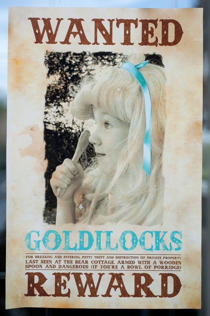 Goldilocks + Three Bears Party