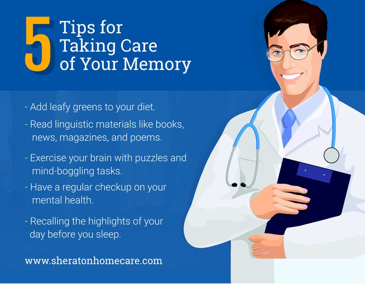 5 Tips for Taking Care of Your Memory