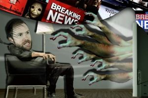 Mike Rugnetta for PBS Idea Channel explores connections between horror movies and cable news in this latest episode of the series.