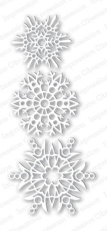 Snowflakes Die Set -  DIE024-X: