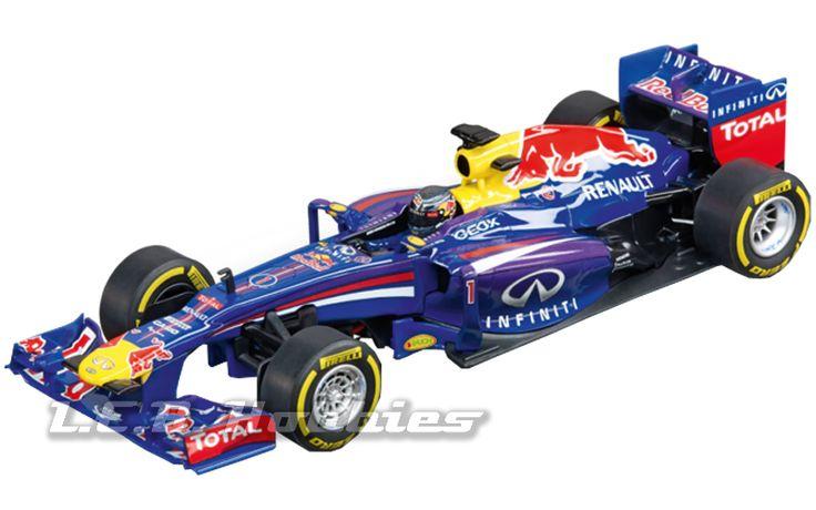 "Carrera 30693 Digital 132 Infinity Red Bull Racing RB9 ""Sebastian Vettel, No.1"" #slotcar #carrera"