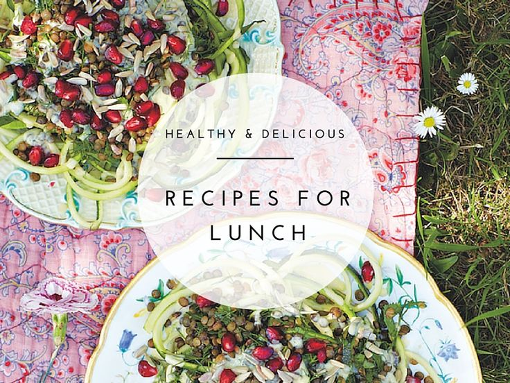 If you're wondering what to make for lunch tomorrow, here are 10 delicious & healthy lunch recipes for work that you can make quickly and pack in your bag!