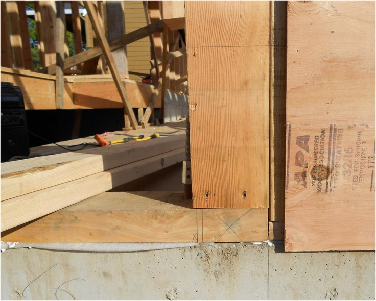 Oregon Juniper can be used instead of pressure-treated wood, for locations in contact with ground/concrete.