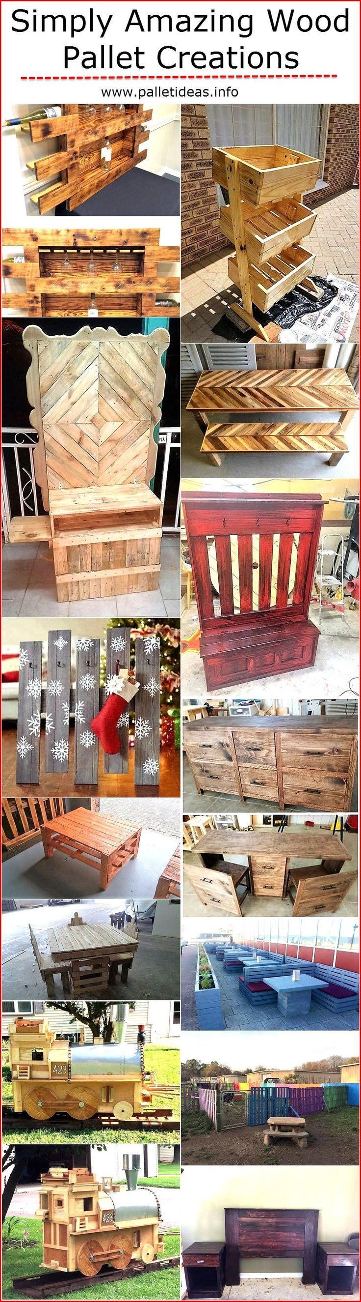 This wood pallet material has got so many potential benefits, some of them are explored are some are yet to be found for them who haven't been into the wood pallet recycling. Because for us all of these advantages are pretty clear and obvious. And this gives us a lot of strength and encouragement to keep creating these wood pallet creations.