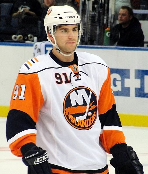 According to the Associated Press, Islanders' star center and the first overall selection in the 2009 NHL Draft John Tavares has joined Swiss hockey club Bern.