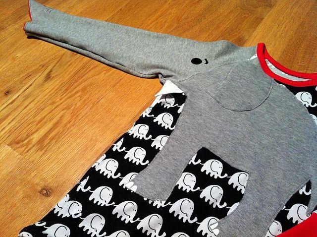 elephant shirt (Ottobre)