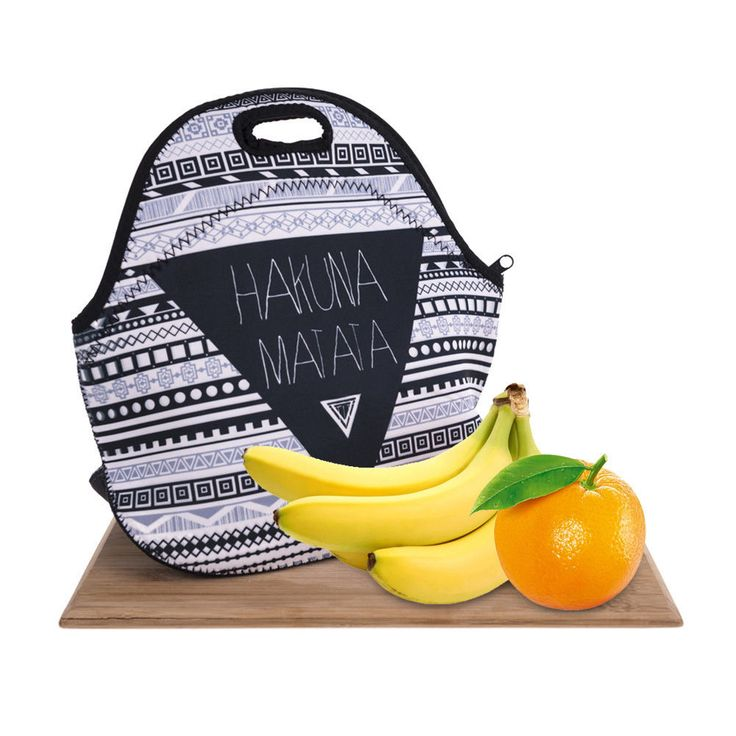 Neoprene Lunch Bag Tote - Insulated Waterproof Thermal Lunch Bag Box Picnic Bag