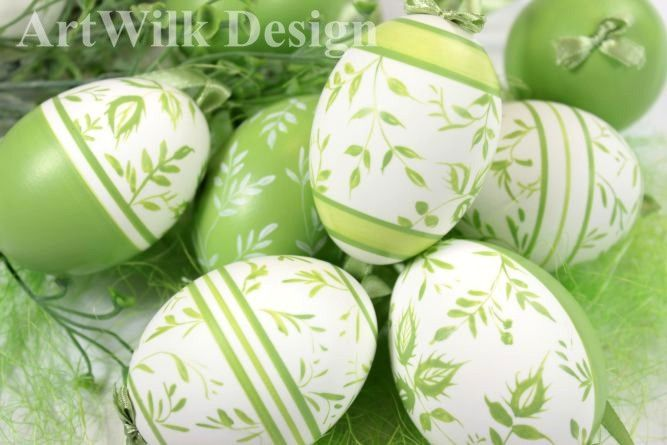 Hand painted on duck eggs by ArtWilk