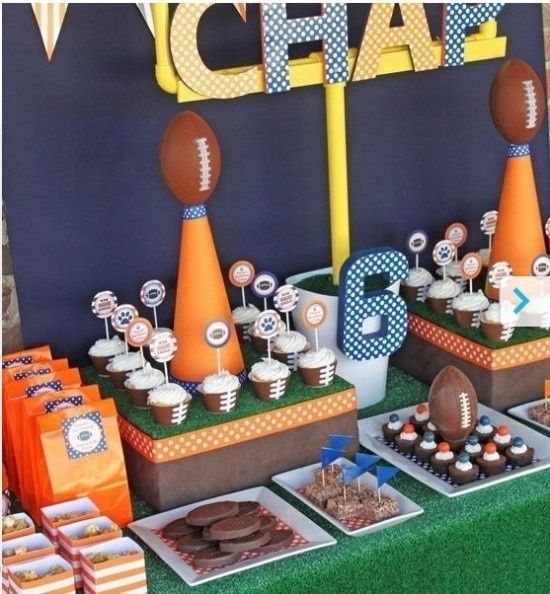 Good Food Ideas For Football Parties