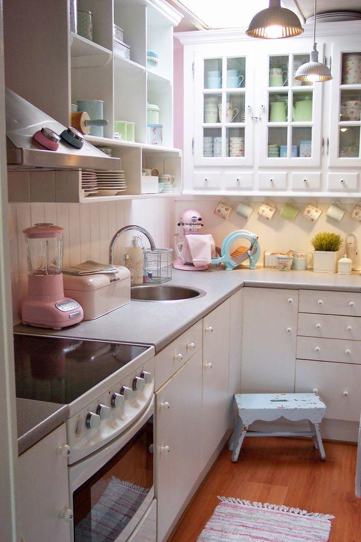 die besten 25 retro k che dekor ideen auf pinterest. Black Bedroom Furniture Sets. Home Design Ideas