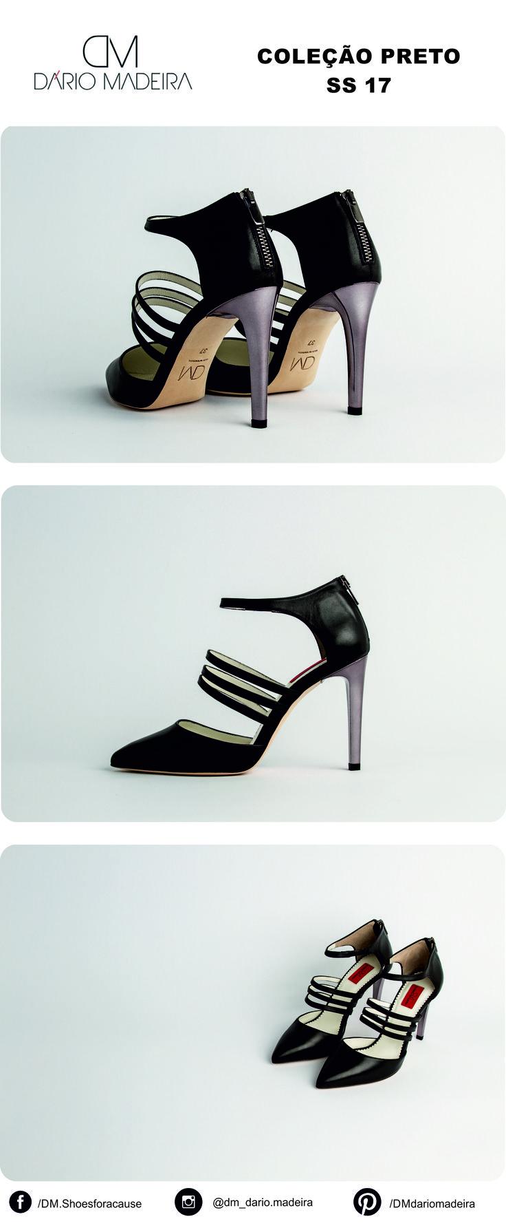 Sandália - Linha Preto | SS17 | DM - Dário Madeira  Sapato de Senhora | Shoes for a cause | Calçado Português | Portuguese Shoes | Made In Portugal