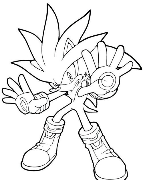 sonic the hedgehog and friends coloring pages - 72 best images about criatividade on pinterest