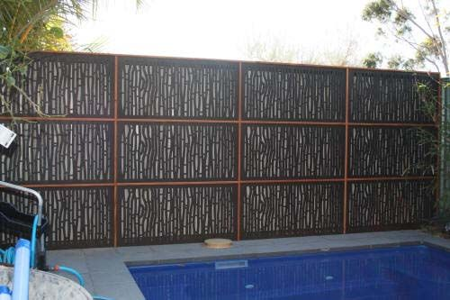 17 best images about gardenscreen on pinterest gardens for Pool fence screening ideas