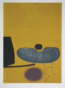 Victor Pasmore Points of Contact No.16 A bold screenprint from an edition of 70 published in 1973.