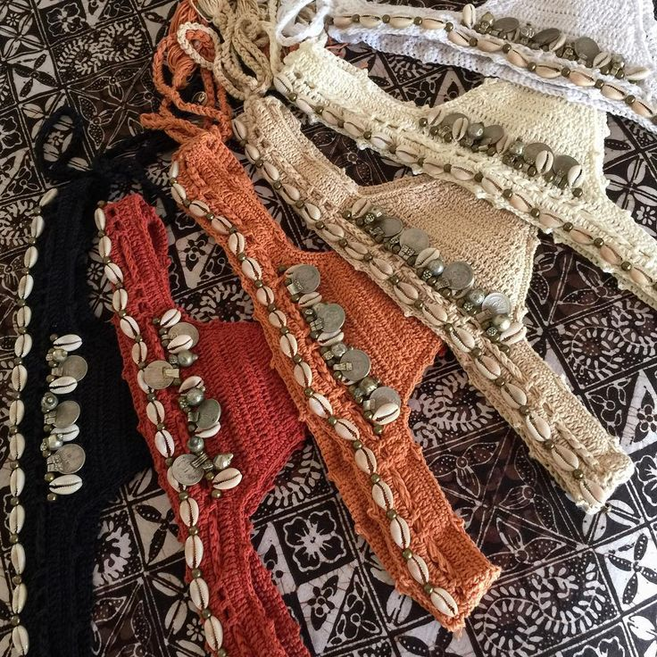 Packing some special little Bagus gifts up this morning , these are the Kuchi Brazilian bottoms $69 handmade and hand beaded using vintage coins ,beads , and cowries #unique #treasure #gift