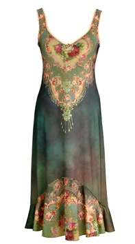 perfect summer dress to go to a wedding or some fancy function.