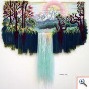 """Весна"" Maravilloso tapiz en relieve. Técnica y diseño de Yuriy Nikolayevich Hovsepian."