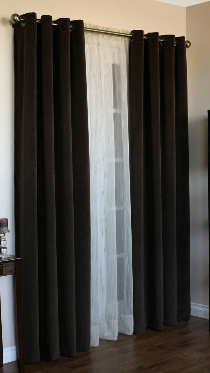Modern grommet top curtains - Angel Is A Grommet Top Curtain Design Luxurious Soft Suede Fabric With 1 1