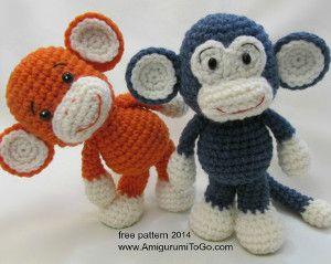 Make Your Own Monkey   AllFreeCrochet.com - Free crochet pattern