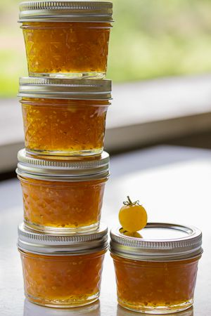 Golden Cherry Tomato and Ginger Jam   The Joy of Cooking