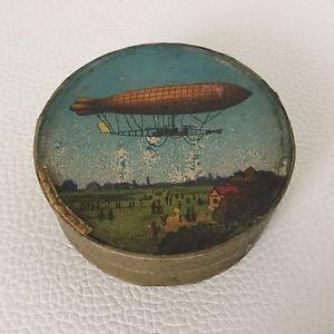 Rare Boîte Fixé Sous Verre DIRIGEABLE Ville De Paris 1906 Box no Zeppelin | eBay