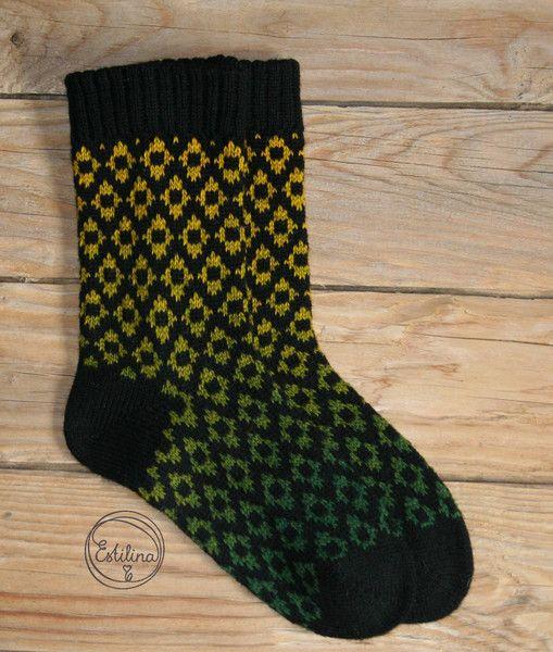 Socken - Stricksocken - ein Designerstück von estilina bei DaWanda