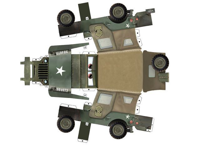 CARS paper toys by Paul Kouppas at Coroflot.com