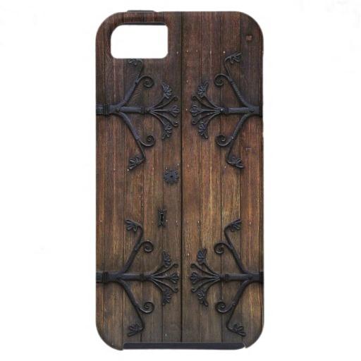 Beautiful Old Wooden Door iPhone 5 Case