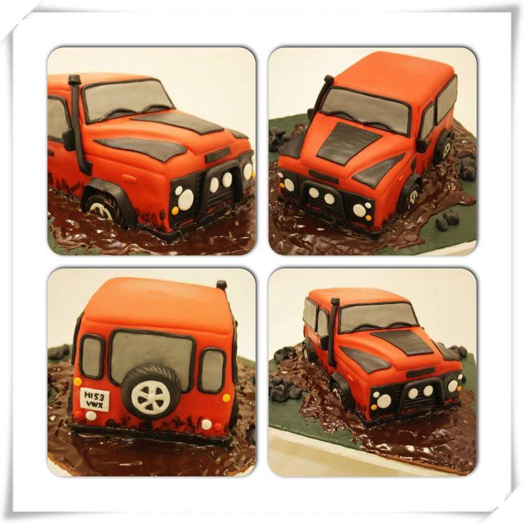 More photos of my Land Rover Defender cake. Am so happy with the result. But, can always be better.