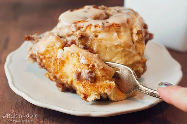 yummy maple pecan cinnamon rolls yummy maple pecan cinnamon rolls i ...