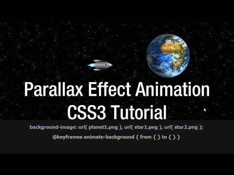 CSS Parallax Effect Animation Multiple Background CSS Tutorial