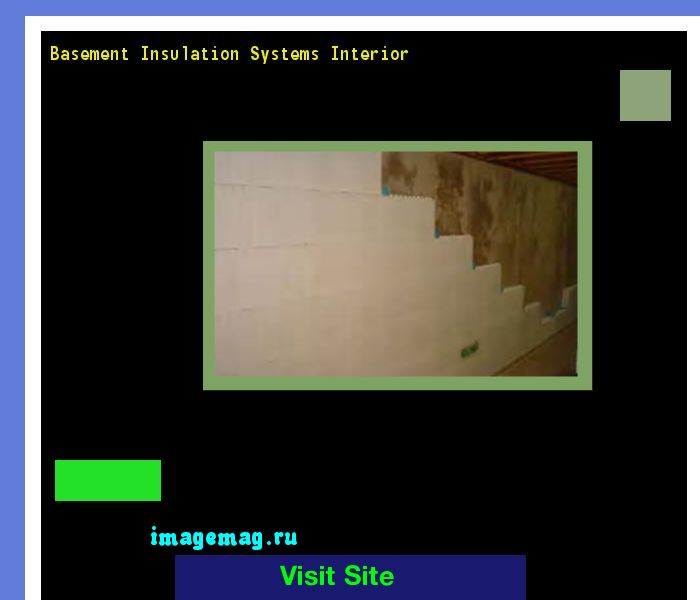 Basement Insulation Systems Interior 120011 - The Best Image Search
