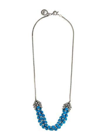 Giles & Brother Multistrand Bead Necklace