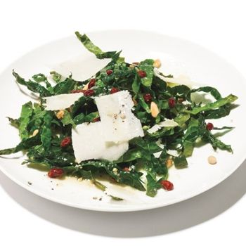 Image for Kale Salad with Pinenuts, Currants and Parmesan