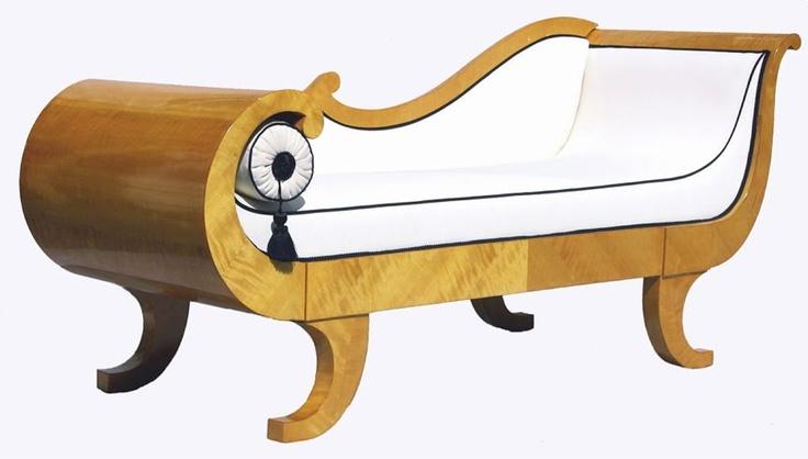 30 best images about biedermeier on pinterest antiques for Biedermeier chaise