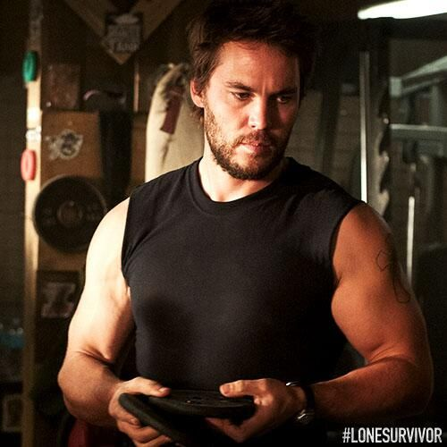 Taylor Kitsch in Lone Survivor. goodness...gracious....