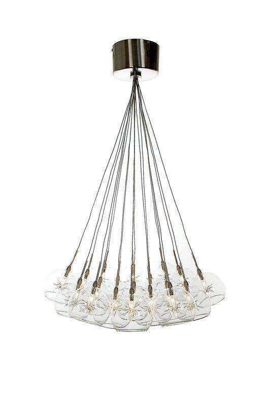 Pendant with handmade glass starburst accents and globe shades product pendantconstruction material metal and glasscolor clear and satin