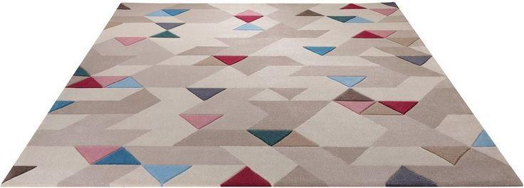 Teppich, Esprit, »Imagination«, handgetuftet ab 99,09€. 2,7 kg/m² Gesamtgewicht, 10 mm Gesamthöhe, Fussbodenheizungsgeeignet, Allergikergeeignet bei OTTO