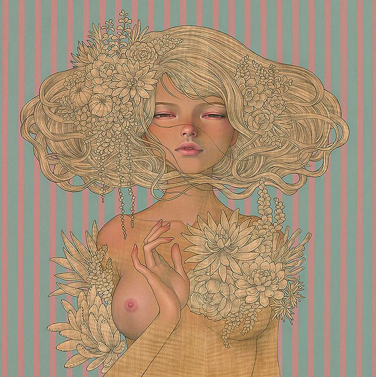 Audrey Kawasaki and Stella Im Hultberg display never-before-seen works at the Thinkspace Gallery in Los Angeles.