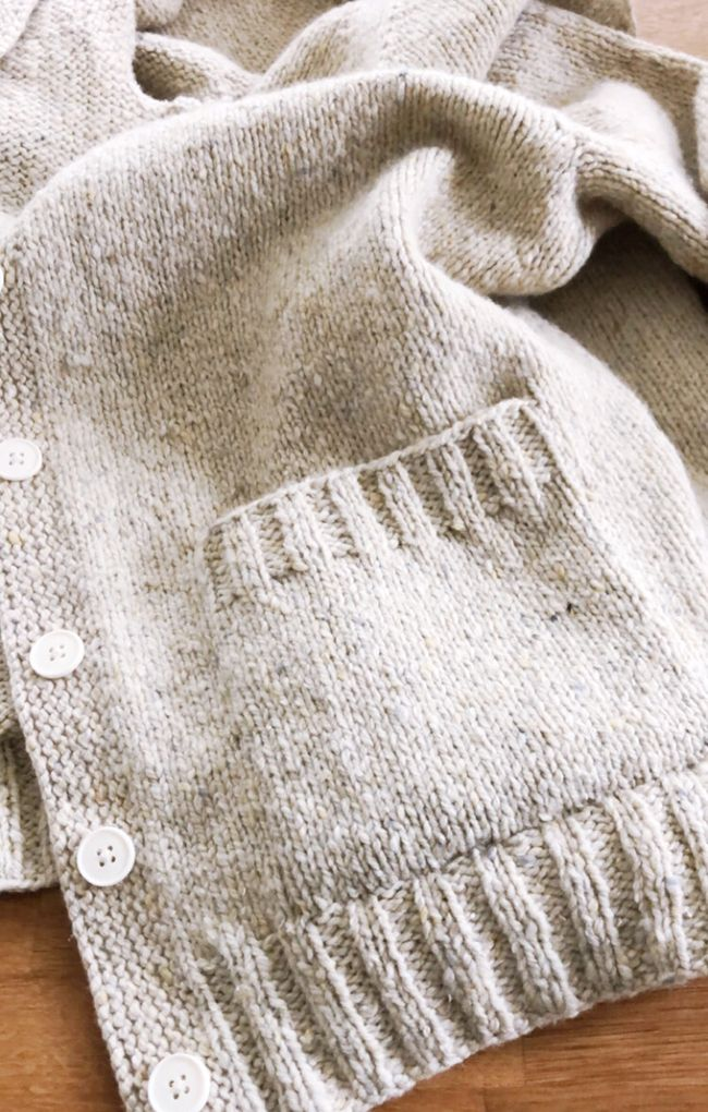 The Details: Grafted patch pockets | knitted | Pinterest | Agujas ...