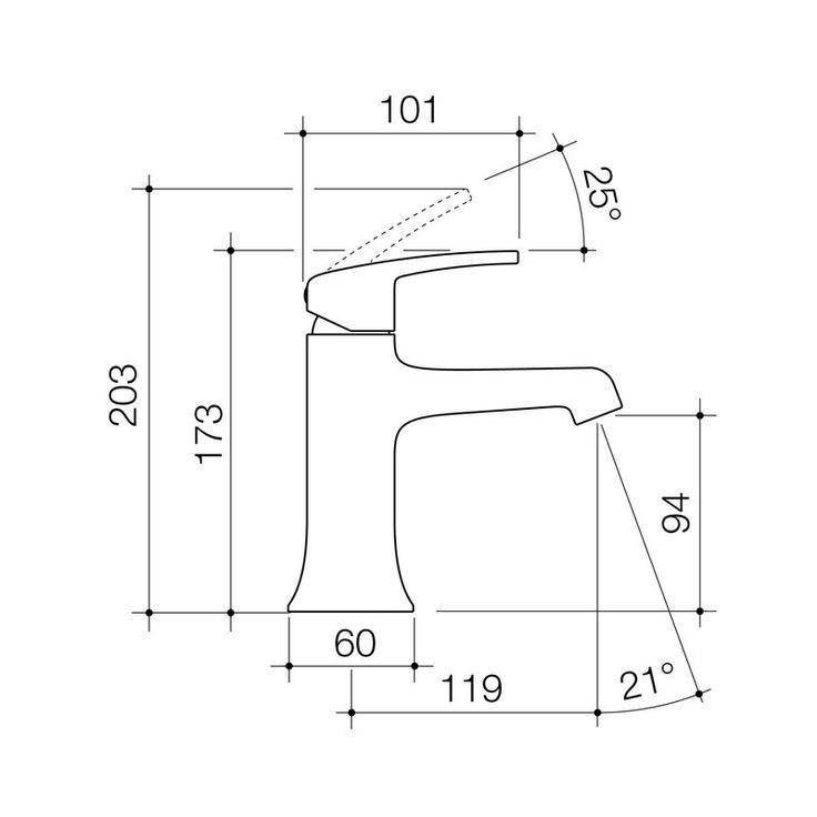 Mixer Taps - Pillar - Pillar Basin Mixer